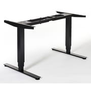 Swedstyle Quadro Height Adjustable Desk; Black