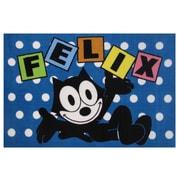 Fun Rugs Felix Dots Blue Area Rug; 3'3'' x 4'10''