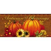 Evergreen Enterprises, Inc Pumpkin and Sunflower Sassafras Switch Mat