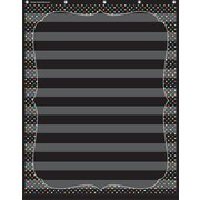 Teacher Created Resources, Chalkboard Brights 10 Pocket Chart (TCR20746)
