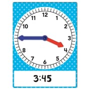 Teacher Created Resources, Magnetic Foam Geared Clock Large (TCR20710)