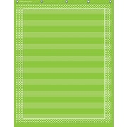 Teacher Created Resources, Lime Polka Dots 10 Pocket Chart (TCR20745)