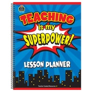 Teacher Created Resources, Teaching Is My Superpower Lesson Planner (TCR8298)