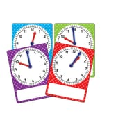 Teacher Created Resources, Magnetic Foam Geared Clocks: Small 4 Pack (TCR20734)