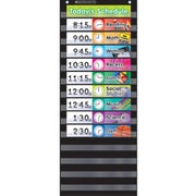 Scholastic Teaching, Pocket Chart Daily Schedule, Black (SC-583865)