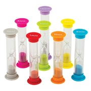 Teacher Created Resources, Small Sand Timers Combo, Pack of 8 (TCR20697)