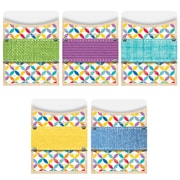 Creative Teaching Press, Upcycle Style Library Pockets, Standard Size, Pack of 35 (CTP6742)