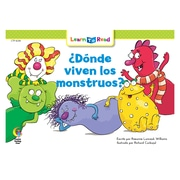 Creative Teaching Press Paperback, Donde viven los monstruos? (Where Do Monsters Live?) Learn to Read Spanish Book(CTP8259)