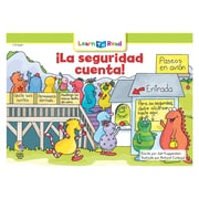 Creative Teaching Press Paperback La seguridad cuenta! (Safety Counts) Learn to Read Spanish Book(CTP8287)