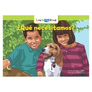Creative Teaching Press Paperback, Que necesitamos? (What Do We Need?) Learn to Read Spanish Book(CTP8281)