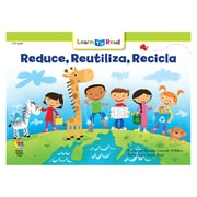 Creative Teaching Press Paperback, Reducir, reutilizar, reciclar (Reduce, Reuse, Recycle) Learn to Read Spanish Book(CTP8249)