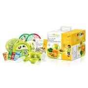 PrecisePortions Show 'N Tell Know-It-A Complete Nutrition 6 Piece Dinnerware Set