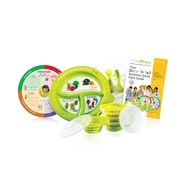 PrecisePortions Show 'N Tell Melamine Spanish Know It All Nutrition 6 Piece Dinnerware Set