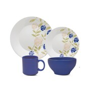 Oxford Porcelain Biona Perfect Blue 16 Piece Dinnerware Set