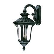 Acclaim Lighting Augusta 4-Light Outdoor Wall Lantern; Matte Black