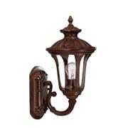 Acclaim Lighting Augusta 1-Light Outdoor Sconce; Burled Walnut
