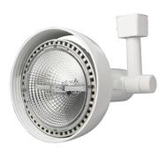 Lithonia Lighting 9000 Series 1 Light Front Loading Commercial Track Head; Matte White