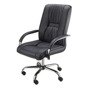 Luxury Home Florence High-Back Executive Office Chair with Arms