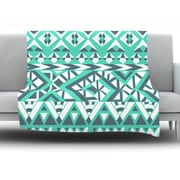KESS InHouse Tribal Simplicity by Pom Graphic Design Fleece Throw Blanket