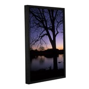 ArtWall Texas Sunset on the Lake by Kathy Yates Framed Photographic Print; 12'' H x 18'' W x 2'' D