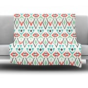 KESS InHouse Marrakech by Pom Graphic Design Fleece Throw Blanket