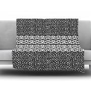KESS InHouse Wind Night by Pom Graphic Design Fleece Throw Blanket; 60'' H x 50'' W x 1'' D