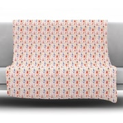 KESS InHouse Miss Ruby Fleece Throw Blanket; 60'' L x 50'' W