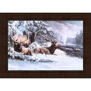 Tangletown Fine Art A Late Winter Gathering by Kevin Daniel Framed Graphic Art