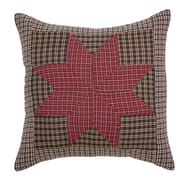 VHC Brands Carson Star Patchwork Cover Pillow Cover