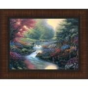 Tangletown Fine Art Secret Creek by Derk Hansen Framed Painting Print