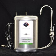 KitchenChoice Deck Mounted Premium Hot Water Dispenser; Polished Chrome