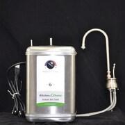 KitchenChoice Deck Mounted Premium Hot Water Dispenser; Brushed Nickel