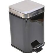 Evideco 0.8 Gallon Step-On Metal Trash Can