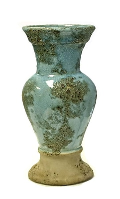 SagebrookHome Rusted Urn Vase; 17.75'' H x 8'' W x 5'' D WYF078278812841