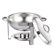 Cook N Home 5-qt. Round Chafing Dish Chafer with Lid