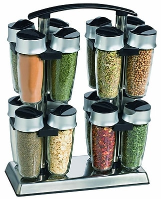 Trudeau Corporation 16 Bottle Tower Spice Rack