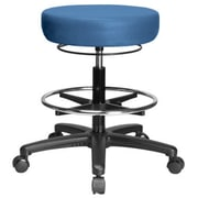 Perch Chairs & Stools Height Adjustable Medical Stool with Foot Ring; Newport Fabric