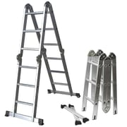 OxGord 12.5 ft Aluminum Multi-Position Ladder