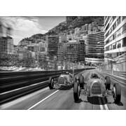 Benjamin Parker Galleries Memories of Monte Carlo Memorabilia on Wrapped Canvas