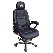 Tailgate Toss NCAA Office Chair with Lever Seat Height Control; BYU Cougars