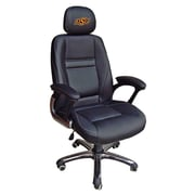 Tailgate Toss NCAA Office Chair w/ Lever Seat Height Control; Oklahoma State Cowboys