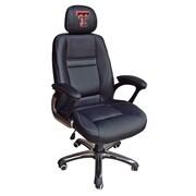 Tailgate Toss NCAA Desk Chair; Texas Tech