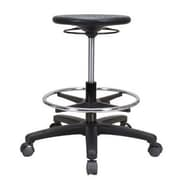 Perch Chairs & Stools Height Adjustable Industrial Stool w/ Foot Ring