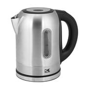 Kalorik 1.8-qt. Stainless Steel Electric Tea Kettle in Silver