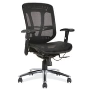 OfficeSource Engage Mesh Series Mesh Task Chair; Black