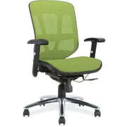 OfficeSource Engage Mesh Series Mesh Task Chair; Green