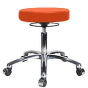 Perch Chairs & Stools Height Adjustable Massage Therapy Swivel Stool; Orange Kist
