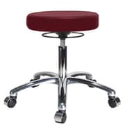 Perch Chairs & Stools Height Adjustable Massage Therapy Swivel Stool; Burgundy