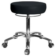 Perch Chairs & Stools Height Adjustable Medical Stool; Black