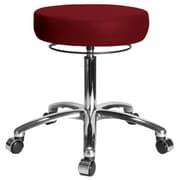 Perch Chairs & Stools Height Adjustable Medical Stool; Burgundy